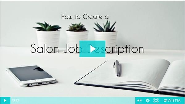 How to Create a Salon Job Description